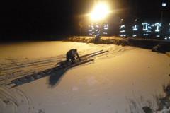 Eisrettung 2012 - Freiwillige Feuerwehr am unteren Weiher