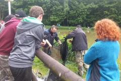 Jugend-Königsfischen 2013 mit Fischerkönig Pascal Himbert